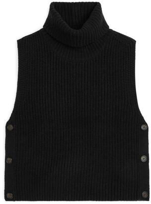 Arket Buttoned Wool Vest