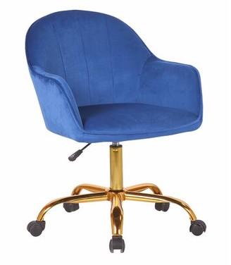 Anniston Task Chair Mercer41 Upholstery Color: Blue