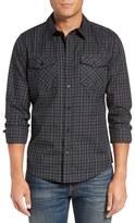 Hurley Men's Cascade Dri-Fit Plaid Woven Shirt
