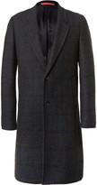 Paul Smith Checked Bouclé Overcoat