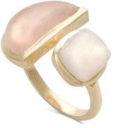 Oliver Bonas Margo Semicircle Stone Ring