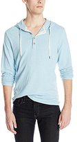 Lucky Brand Men's Sueded Jersey Hoodley