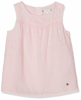 Tommy Hilfiger Baby Girls' Charming Shiffley Top S/s Vest