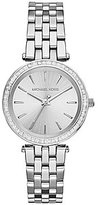 Michael Kors Mini Darci Sunray Dial 3-Hand Stainless Steel Bracelet Watch