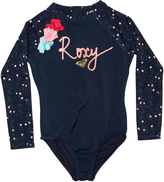 Roxy Tots Girls Star Boho Onesie Blue