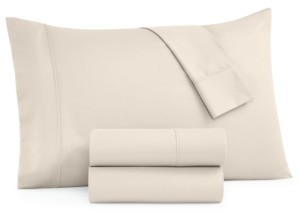 Aq Textiles Parker 1200-Thread Count 4-Pc. California King Sheet Set Bedding