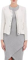 IRO Women's Agnette Distressed Cotton Jacket-WHITE