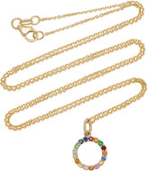 With Love Darling Partnership 14K Gold Multi-Stone Necklace