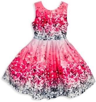 Joe Ella Girl's Pleated Fit-&-Flare Dress