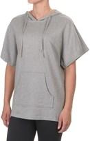 Satva Ava Dolman-Sleeve Hoodie - Organic Cotton, Short Sleeve (For Women)