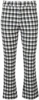 Derek Lam 10 Crosby casual vichy trousers