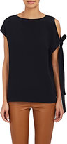 Helmut Lang Women's Cutout-Shoulder Blouse
