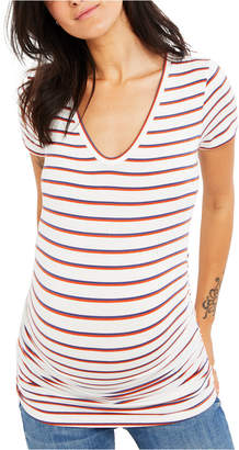 A Pea in the Pod Maternity Ruched T-Shirt