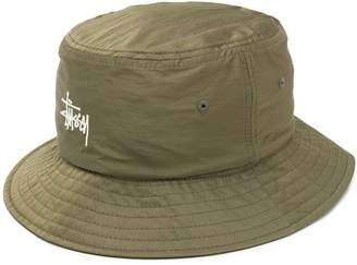 Stussy Logo Patch Bucket Hat