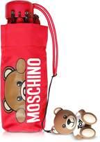 Moschino Hidden Teddy Bear Red Supermini Umbrella