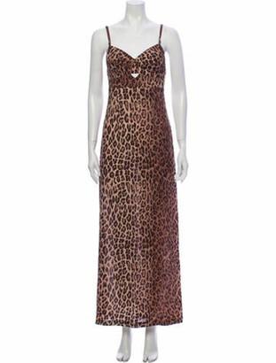 Dolce & Gabbana Silk Long Dress