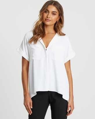 Willa Colbie Button Front Top