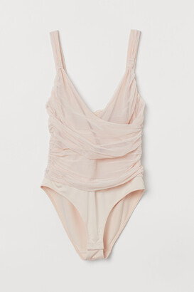 H&M Draped mesh body