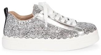 Chloé Lauren Glitter Sneakers