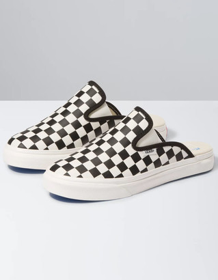 Vans Leather Checkerboard Womens Mule SF