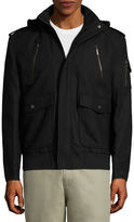 Asstd National Brand Wool Bomber Jckt Boucle Bomber Jacket