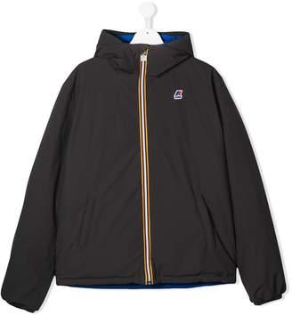K Way Kids TEEN zipped logo jacket