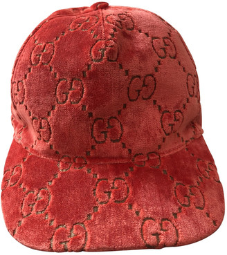 Gucci Orange Synthetic Hats