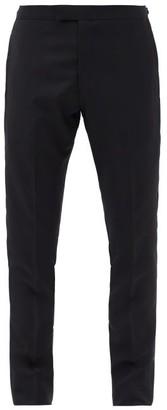 Paul Smith Satin-trim Wool-blend Tuxedo Suit Trousers - Black