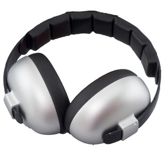 Banz Earmuffs Infant Hearing Protection Ages 0-2 Years - Silver