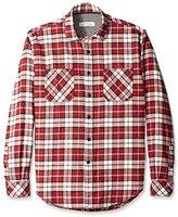 James Campbell Men's Anju Plaid Flannel Long Sleeve Shirt