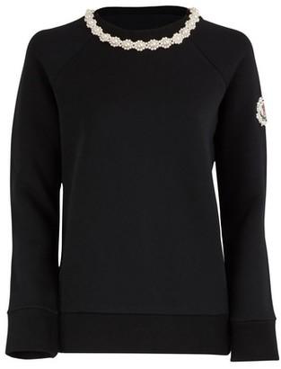 MONCLER GENIUS 4 Moncler Simone Rocha jewel collar sweater