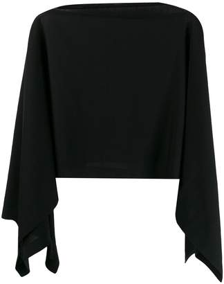 Wolford Softwood poncho jumper