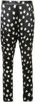 Fleur Du Mal floral pyjama trousers - women - Silk - M