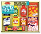 Melissa & Doug Wooden Pantry Products Play Food Set (9pc)
