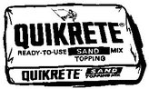 Quickrete Sand Mix Concrete 40 Lb.