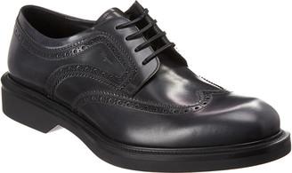 Salvatore Ferragamo Donegal Wingtip Leather Oxford