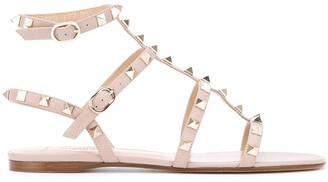 Valentino Rockstud ankle strap sandals