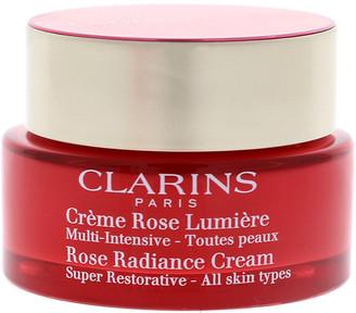 Clarins Unisex 1.7Oz Rose Radiance Cream Super Restorative