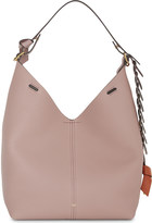 Anya Hindmarch Hobo leather shoulder bag and pouch