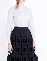 Junya Watanabe Textured poplin shirt