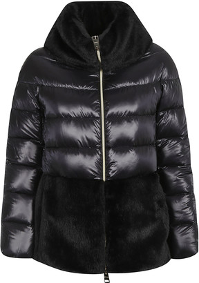 Herno Belt-waist Mid-length Padded Jacket