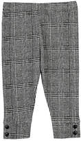 Amelia GLEN PLAID PIQUÉ COTTON LEGGINGS