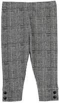Amelia Glen Plaid Piqué Cotton Leggings