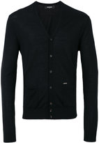 DSQUARED2 V-neck cardigan - men - Wool - S