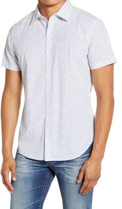 Bonobos Slim Fit Short Sleeve Button-Up Shirt