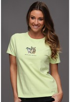 Life is Good Jackie Hold Your Horses Crusher Tee (Citron Green) - Apparel