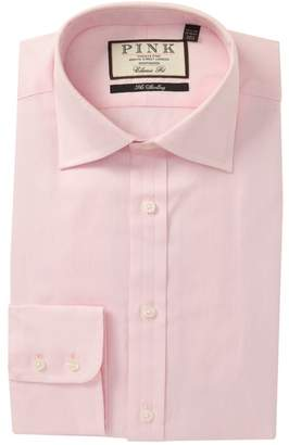 Thomas Pink Classic Fit Arthur Twill Dress Shirt