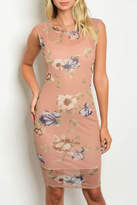 Love Republic Nude Floral Dress
