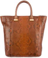 The Row Python Tall Day Tote