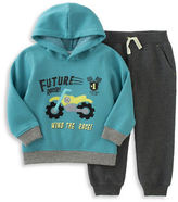 Kids Headquarters Baby Boys Two Piece Hoodie and Drawstring Pants Set
